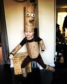 Make this Stick Man costume for your child's book week!