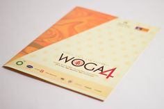 THOTIN designed the World Oil and Gas Assembly conference folder for NHST in 2009.