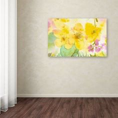 Trademark-Fine-Art-Yellow-Trio-Canvas-Wall-Art-by-Sheila-Golden-22-by-32-Inch