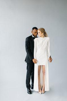 Inspiration: Modern Meets All Out Romance Wedding Inspiration. Glamorous Wedding, Chic Wedding, Elegant Wedding, Wedding Styles, Wedding Photos, Wedding Posing, 1920s Wedding, Wedding Details, Wedding Ideas