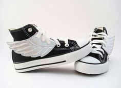 Mix between Chucks and Adidas Original by Jeremy Scott = nice ; Jeremy Scott, Luke Castellan, Jace Lightwood, Wing Shoes, Shoes With Wings, Young Avengers, Silver Wings, Blue Wings, Heroes Of Olympus