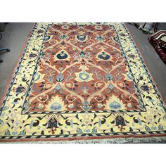 Shop Turkish Oushak Rug 11.4x8.3 and other jewelry, art, coins, rugs and real estate at www.aantv.com Decorative Rugs, Jewelry Art, Bohemian Rug, Coins, Real Estate, Shop, Home Decor, Decoration Home, Rooms