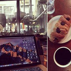 Enjoying an amazing pour over at cafe vita. #seattle #digitalnomad #travel #remotework #workhardanywhere #coffice #workandtravel #workanywhere #wha #nomad #cafe #coffee #coffeeshop #appleandcoffee #workremote #remoteworking #codeanywhere #remoteoffice