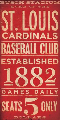 St. Louis Cardinals poster //  //    // be          // aim to      // #home #decor