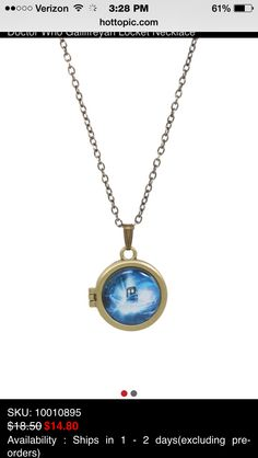Doctor Who locket