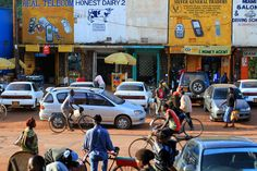 Bustling Kabale Uganda   by AdamCohn