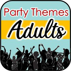 Tons of adult party games for all occasions. Games for birthdays, dinner parties, FUNNIEST party games + MANY MORE! Dinner Party Games For Adults, Adult Party Games, Birthday Themes For Adults, Dinner Parties, Birthday Party At Home, Birthday Party Themes, 50th Party, Birthday Games, 25th Birthday