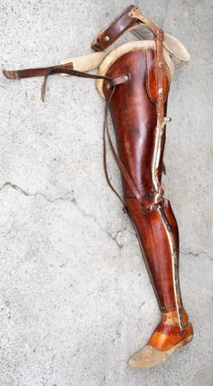 Marked 1910 german womens prosthetic leg for high above knee amputee woman Orthotics And Prosthetics, Prosthetic Leg, Vintage Medical, Legs, Woman, Boots, Steampunk, Oc, Health