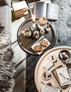Bijzettafel | Side table | vtwonen 02-2017 | Styling Danielle Verheul | Fotografie Sjoerd Eickmans