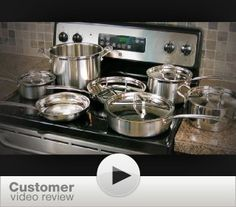 Amazon also sells the Cuisinart 12-Piece Cookware set that I want. Free shipping and it's priced lower than Bed bath.