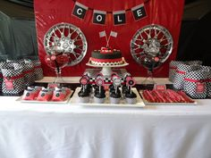 """Race Cars / Birthday """"Race Car party for 3 year old"""" 