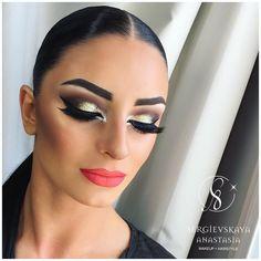"904 Likes, 4 Comments - Sergievskaya Anastasia (@sergievskaya_stylist) on Instagram: ""@polina_oddr ✨✨✨ Hairstyle&Makeup by @sergievskaya_stylist #mua #muah #hairstyle #stylist…"""