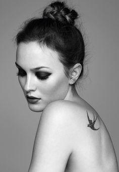 #bird #tattoo on the back