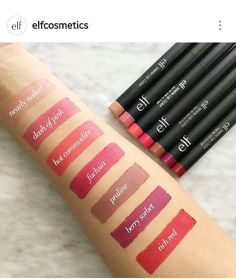 elf matte lip color #elf #lips More
