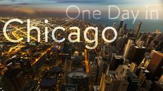 "Discover the windy city with exploratory timelapse of Chicago. There's a quote hiding in the video that says ""Make Life One Long Weekend"" and we totally agree-- one long weekend, one long summer..maybe even, one long road trip?!  All places in video found here: https://roadtrippers.com/trips/one-day-in-chicago/5518076  Our Adventure Photographer/Timelapse Videographer, Joel Schat (http://joelschat.com ), was in the Chicago area. We got him to shoot a video of what he would ..."