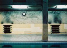 """Hans-Christian Schink, """"Leipziger Bäder"""", Westbad 3, 1988, C-Print, 29 x 40 cm"""