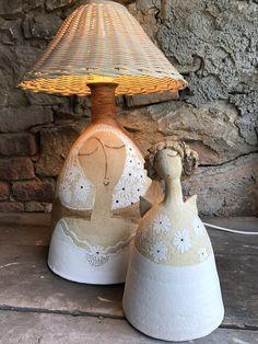 Kvítky ..... / Zboží prodejce zu straková | Fler.cz Ceramic Art, Pottery, Lighting, Ceramics Ideas, Paper Mache, Chandeliers, Inspiration, Home Decor, Doll