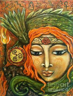 Shaman Painting by Maya Telford - Shaman Fine Art Prints and Posters for Sale fineartamerica.com