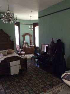 Historical adventures with Joe at the Belvidere mansion in Claremore OK.