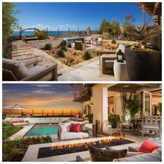Another outdoor escape. Which do you like best? Top or bottom?  #home #design #decor #designideas #outdoorliving #california