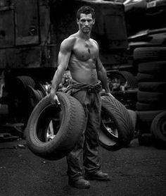 If David Gandy would change it, I could arrange to have a flat tire every day!