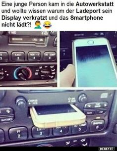Eine mnge Person kam in die Autowerkstatt und wollte wissen warum. A long person came into the garage and wanted to know why . Epic Fail Pictures, Funny Pictures, Epic Fail Texts, Funny Fails, Funny Jokes, Haha, Design Fails, Parenting Fail, Good Jokes