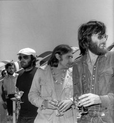 Peter Fonda, Dennis Hopper, Jack Nicholson