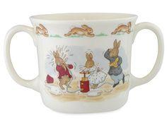 Royal Doulton - Bunnykins Nursery Hug-a-Mug w/2 Handles | Peter's of Kensington