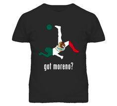 Hector Moreno Mexico Df Kick Football Soccer World Cup T Shirt