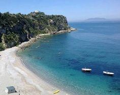 Spiaggia Rinella Capo Milazzo Sicilia