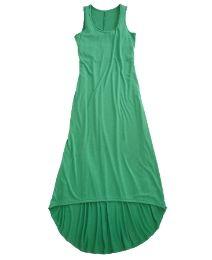 High Low Hem Dress - Plains
