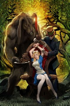 Twisted Alice in Wonderland Art | ... Policy | Tag Archive | grimm fairy tales presents alice in wonderland