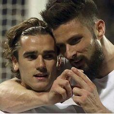 Giroud et Griezmann Les deux meilleurs ...❤️