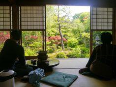 restaurant de tofu, Ryoan-ji, Kyoto