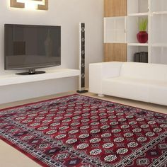 CLASSY HORIZONTAL TRADITIONAL PATCHES RUGS