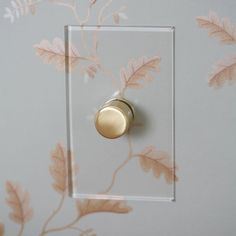 Forbes & Lomax launched an aesthetic light switch, in which they pioneered the screwless, flush to the wall plate, creating a sleek look. The toggles and buttons come in many finishes, including unlacque...