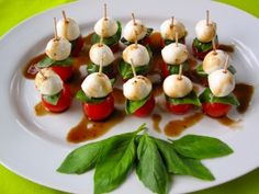 Caprese Skewers from healthytodayhealthytomorrows.com