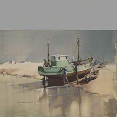Fishing Vessel La Belle Amelie | ClaudeBuckleArt
