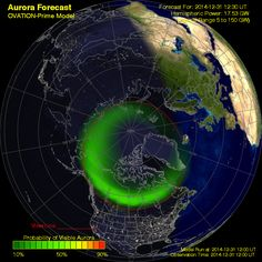 Space weather forecasts - NOAA