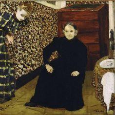 Edouard Vuillard /mother and sister 1868 -1940