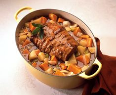 Maple Braised Veal Roast with Two Potatoes | Ontario Veal Appeal