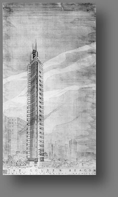 Frank Lloyd Wright - The golden Beacon Skyscraper - Chicago | Flickr - Photo Sharing!