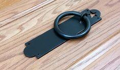Star Door Knocker Ring Pull Barn Door Handle Door Pull | Etsy Barn Door Handles, Door Pull Handles, Door Pulls, Pyramid Head, Shop Doors, Back Plate, Door Knockers, Bronze, Plates