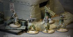 German Combat Grenadiers out of the DUST Deluxe box.  Then re-based and here and there repainted, some details, transfers etc.