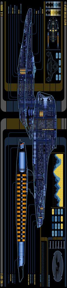 Odyssey Class USS Haruna schematic Star Trek Fleet, Star Wars, Star Trek Ships, Star Trek Bridge, Star Trek Cast, Star Trek Cosplay, Starfleet Ships, Star Trek Images, Sci Fi Ships