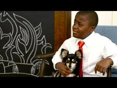It's a bird, it's a plane, it's Kid President and his Pet Hero, Annie the dog? Annie really wanted to partner with Banfield Pet Hospital, and we thought the. Kid President Videos, Art Quotes, Art Sayings, Cool Art, Fun Art, School Boy, Snuggles, French Bulldog, Presidents