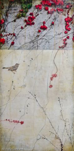 Encaustic art by Nichole DeMent