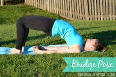 # 5 Bridge Pose (Setu Bandha Sarvangasana)  Morning poses for beginners