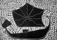 Use Your Coloured Pencils: Ancient Roman Style Paper Mosaics Third Grade Art, Rome Art, Paper Mosaic, Art Through The Ages, Ancient Rome, Ancient Greece, Roman Fashion, Learning Italian, Coloured Pencils
