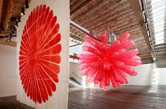 "Anna Hepler ""Bloom""  moving inflatable"